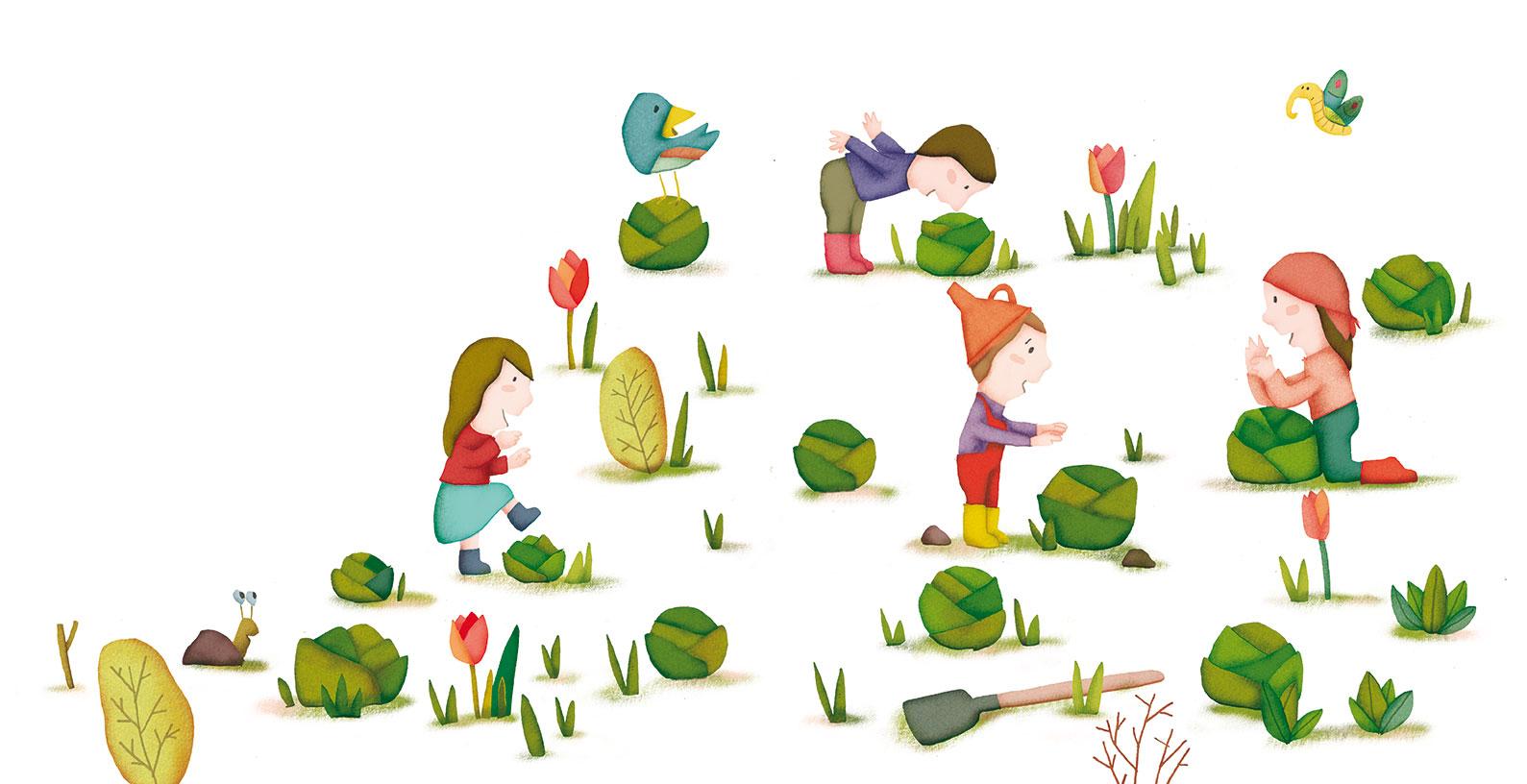 Savez vous planter les choux ?