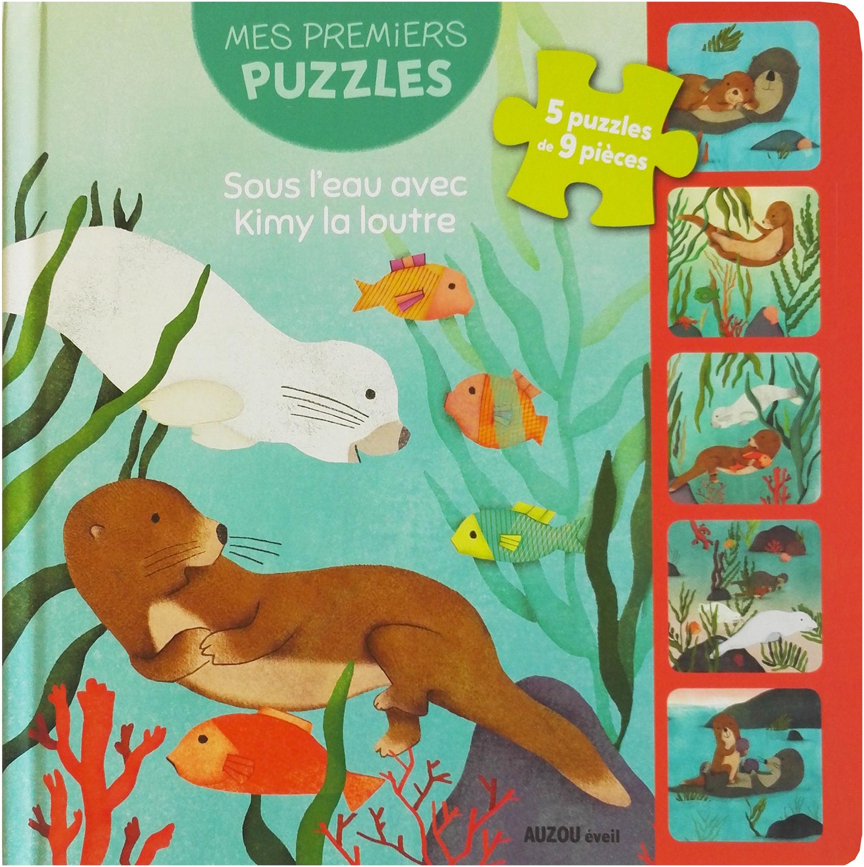 Maud Legrand Auzou puzzle Loutre